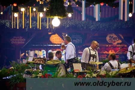 Oktoberfest. У музыкантов перерыв