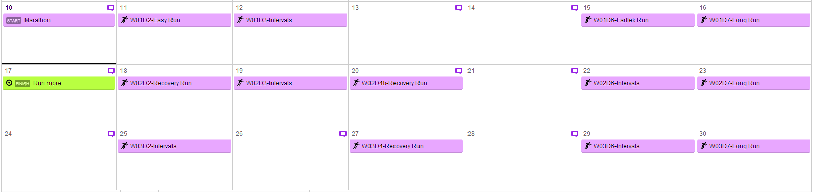 Garmin Connect this month