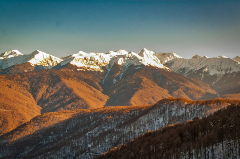 Вид на горы в Крыму